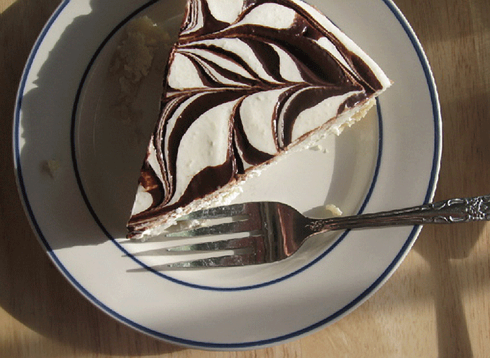 Chocolate Marble Cheesecake image