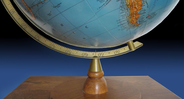 Earth Axis Tilt Marker
