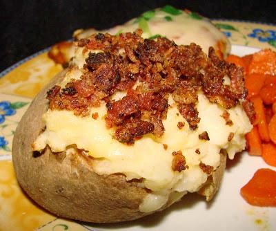 Twice Baked Potatoes image