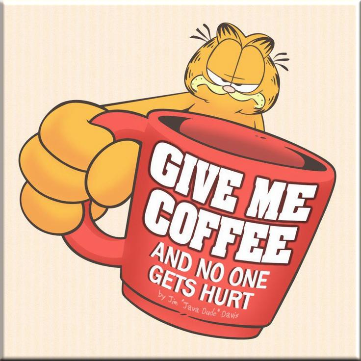 Garfield Coffee PNG