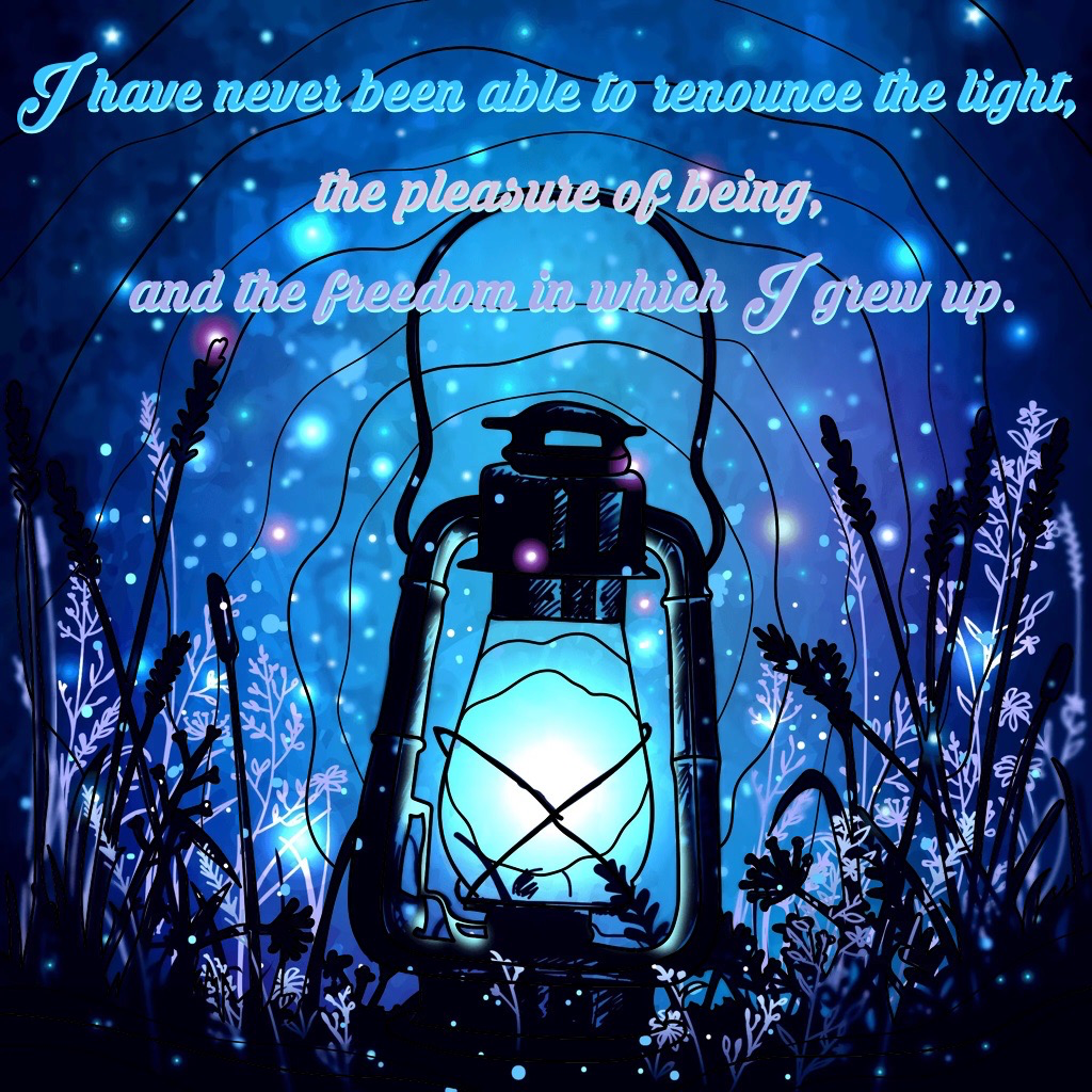 The Light Quote PNG